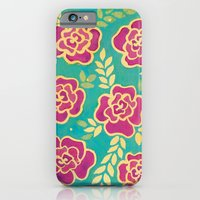 iPhone & iPod Case featuring Watercolour Roses by Bottle of Jo