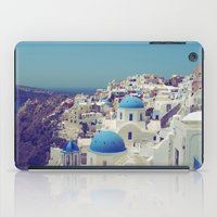 Blue Domes II, Oia, Santorini, Greece iPad Case