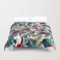 Weird Surface Duvet Cover