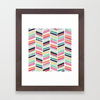 Color Me Happy Framed Art Print