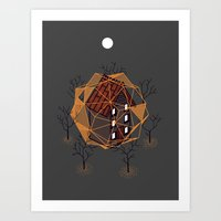 Cabin In The Woods 2 Art Print