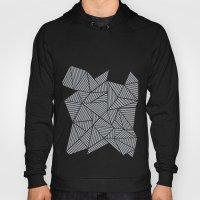 Abstract Mountain Grey Hoody