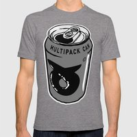 Papsi Mens Fitted Tee Tri-Grey SMALL