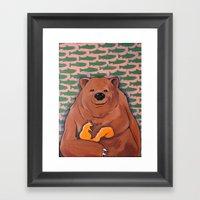 The Bachelor (BEAR) Framed Art Print