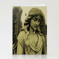 Sepia Angel Stationery Cards