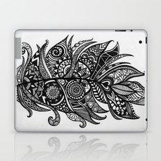 Zen Tangle Feather Laptop & iPad Skin