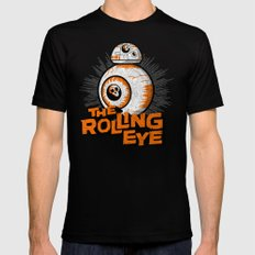 The Rolling Eye Mens Fitted Tee Black SMALL
