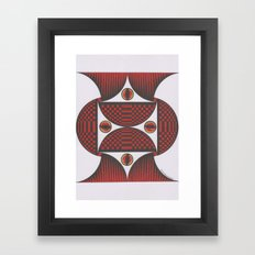 Keep My Eyes On You Framed Art Print