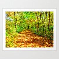 Path to Nowhere Art Print