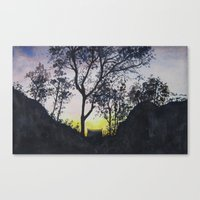 Sunrise in Rinjani Canvas Print