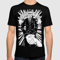 Ain't no sunshine in the game Mens Fitted Tee Black SMALL