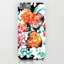 Brush Floral iPhone & iPod Case