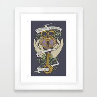 Come Live In My Heart Framed Art Print