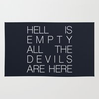 Hell is Empty Rug