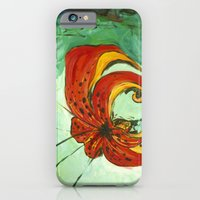 Tiger Lily iPhone 6 Slim Case