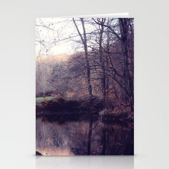 still water Stationery Card