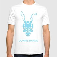 Donnie 02 Mens Fitted Tee White SMALL