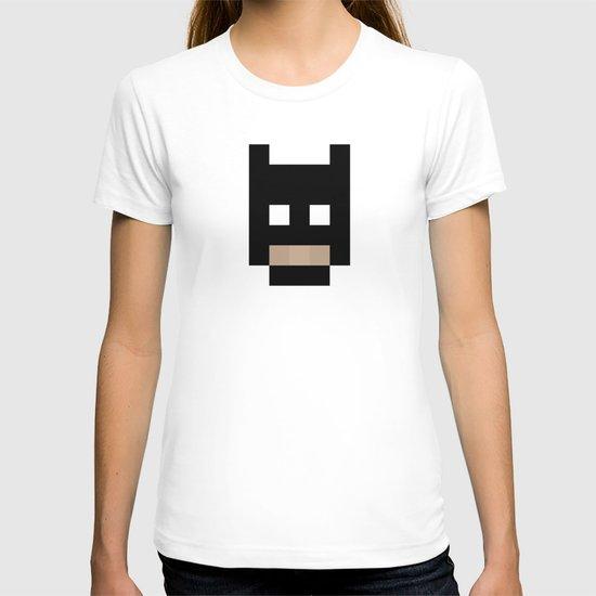 hero pixel black T-shirt