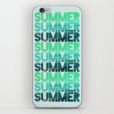 Summer Summer Summer iPhone & iPod Skin