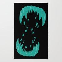 Big Alien Gorilla-Wolf Mother... Rug