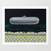 Greener Grass Art Print