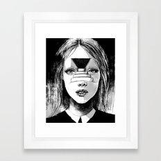 Beyond the Shadows Framed Art Print