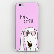 Let's chill! iPhone & iPod Skin