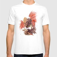 Grandmother Death II Mens Fitted Tee White SMALL