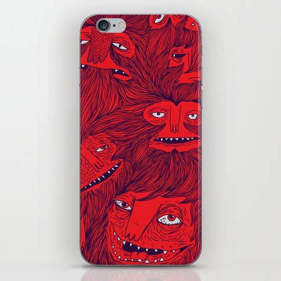 Hairwolves iPhone & iPod Skin
