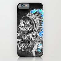 iPhone & iPod Case featuring The Savage by Anthony Akanbi