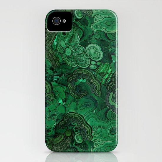 malachite iPhone & iPod Case