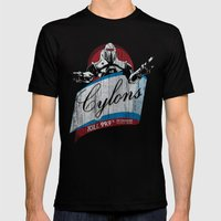 Cylons Huminfectant Spra… Mens Fitted Tee Black SMALL