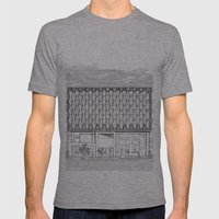 Oxford Street Mens Fitted Tee Athletic Grey SMALL