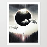 A Dream of Gravity Art Print