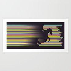 Olympic Horse Riding Art Print