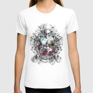 In The Mirror.  Womens Fitted Tee White SMALL