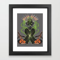 Sound Asylum Framed Art Print