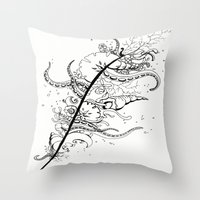 Abstract Art Unique Tren… Throw Pillow