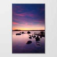 The Bear Island Sunrise Canvas Print