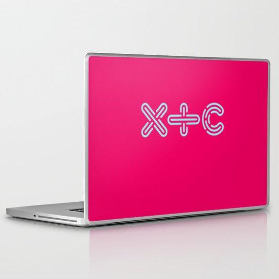 XTC Laptop & iPad Skin
