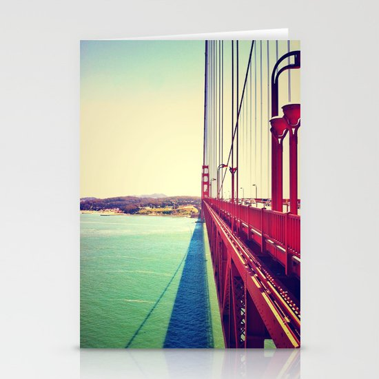 Golden Gate Bridge  Stationery Card