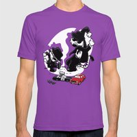 Calv And Hobbwood Mens Fitted Tee Ultraviolet SMALL