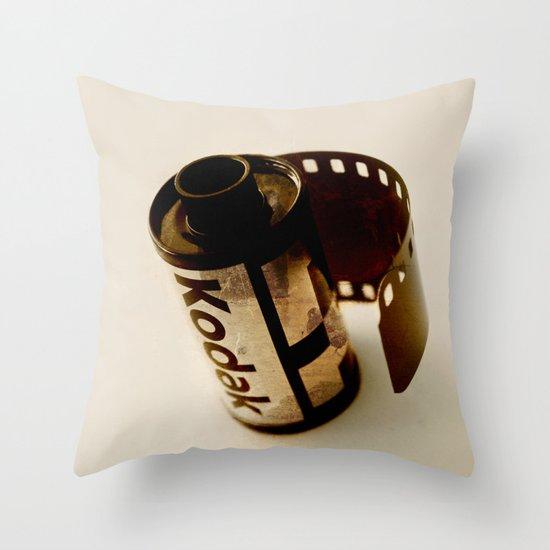 The last kodak film Throw Pillow