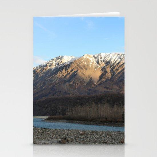 Blue Creek, Alaska Stationery Card