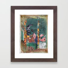 Secret Identity Framed Art Print