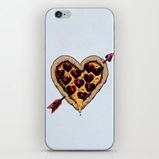 Pizza Love iPhone & iPod Skin