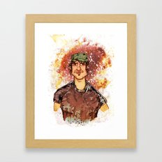 Robert Rodriguez Framed Art Print