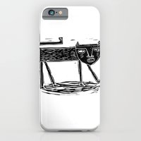iPhone & iPod Case featuring P A N T H E R 1 by Anne Wenkel // Illustration & Fine Art