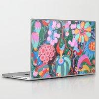 house Laptop & iPad Skins featuring Hidden House by Valeriya Volkova