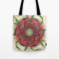 Atomic Nebula Tote Bag